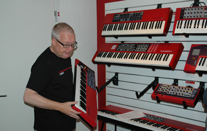 Clavia Nord Keyboards 08