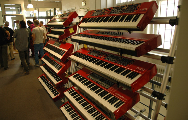 Clavia Nord Keyboards 12