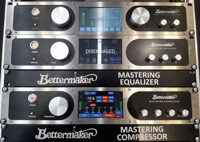 Bettermaker - wyjątkowe urządzenia do masteringu [Musikmesse 2019]