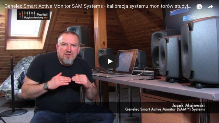 Genelec Smart Active Monitor SAM Systems - kalibracja systemu monitorów studyjnych Genelec