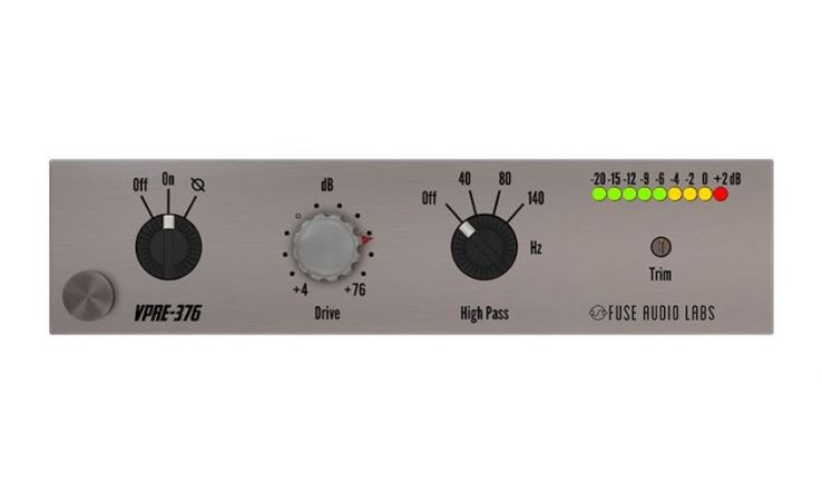 Fuse Audio Labs VPRE-376 - Emulacja hardware'owego preampu