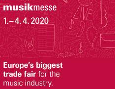 Zapraszamy na Musikmesse 2020