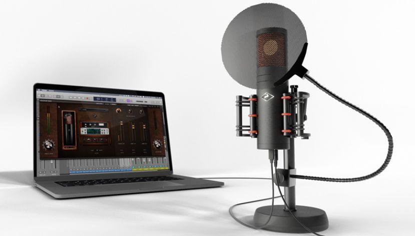 Antelope Audio Edge Go - Mikrofon pojemnościowy z modelingiem i interfejsem audio zasilany przez USB [Musikmesse 2019]