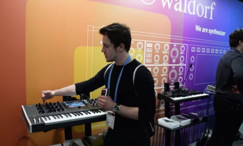 [Musikmesse 2018] Waldorf Quantum - Potężny hybrydowy syntezator
